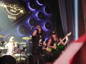 Penampilan grup band cadas asal Jepang Loudness di Hard Rock Cafe Bali Rabu, 13 November 2019 - foto: Koranjuri.com