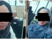 Terduga pelaku yang dilaporkan atas dugaan penipuan - foto: Istimewa
