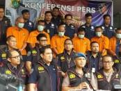 Satgas Antimafia Bola Polri telah meringkus enam orang yang diduga melakukan pengaturan skor pada pertandingan Liga 3 antara Perses Sumedang VS Persikasi Bekasi - foto: Istimewa