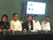 Jajaran Direksi Grup Ciputra menggelar keterangan pers di Jakarta - foto: Bob/Koranjuri.com
