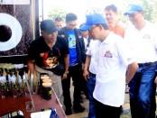 Gubernur Bali Wayan Koster saat membuka acara Pesta Rakyat Simpedes BRI tahun 2019 di Kawasan Monumen Bajra Sandhi, Denpasar, Minggu (15/12/2019) - foto: Istimewa