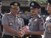 Kapolres Purworejo AKBP Indra Kurniawan Mangunsong, saat melaunching program satu desa satu polisi - foto: Sujono/Koranjuri.com