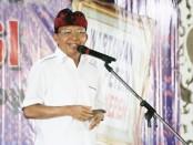 Gubernur Bali Wayan Koster membuka Konferensi Persatuan Wartawan Indonesia (PWI) Provinsi Bali, di Gedung PWI Bali di Denpasar, Kamis, 19 Desember 2019 - foto: Istimewa