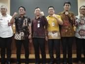 Kabupaten Badung melakukan MoU bersama BPJS Kesehatan dalam pengembangan dan inovasi di bidang teknologi informasi, Jumat, 20 Desember 2019 - foto: Koranjuri.com