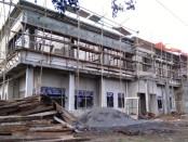 Pembangunan Puskesmas Grabag yang berlokasi di Desa Dukuhdungus, Grabag, terancam molor - foto: Sujono/Koranjuri.com