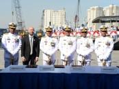KRI Bubara-868 dan KRI Gulamah-869 resmi memperkuat jajaran TNI Angkatan Laut - foto: Istimewa