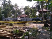 Lokasi Keraton Agung Sejagat di Desa Pogung Jurutengah, Kecamatan Bayan, Purworejo Jateng, kini disegel polisi - foto: Sujono/Koranjuri.com