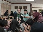 Ketua BSNP Abdul Mu`ti dalam taklimat media di ruang rapat BSNP, Komplek Perkantoran Kemendikbud, Cipete, Jakarta Selatan pada Selasa (21/01/2020) - foto: Istimewa