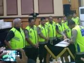 Polda Metro Jaya melakukan penandatanganan Pakta Integritas bersama Sekolah Inspektur Polisi Sumber Sarjana (SIPSS) tahun ajaran 2020 - foto: Bob/Koranjuri.com
