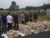 Direktorat Narkoba Polda Metro Jaya menggagalkan upaya peredaran 288 kilogram sabu-sabu - foto: Istimewa