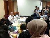 Pelaksana Tugas (Plt.) Kepala Badan Pengembangan dan Pembinaan Bahasa Kemendikbud Dadang Sunendar memberikan keterangan pers terkait hasil kajian Kata Tahun Ini (KTI) 2019, di Jakarta, Senin, 6 Januari 2020 - foto: Istimewa