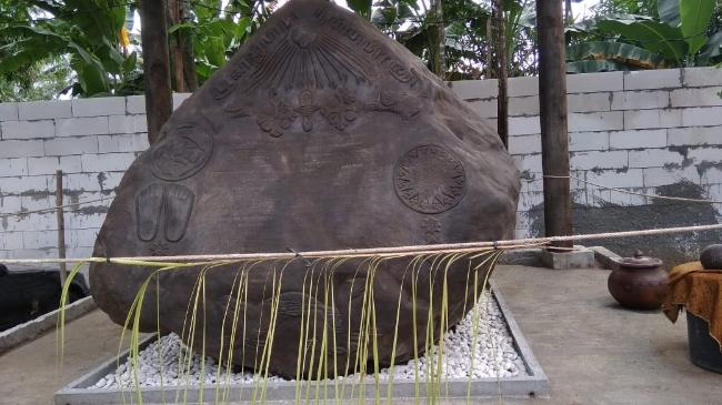 Prasasti I Bumi Mataram - foto: Sujono/Koranjuri.com