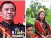 Raja dan permaisuri Keraton Agung Sejagat, Sinuhun Totok Santosa Hadiningrat, kini ditetapkan polisi sebagai tersangka - foto: Sujono/Koranjuri.com
