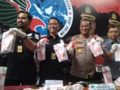 Pil happy five senilai Rp 19,5 miliar gagal edar setelah Ditres Narkoba Polda Metro Jaya menangkap seorang pelaku di Kemayoran, Jakarta Pusat - foto: Bob/Koranjuri.com
