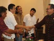 Panitia Indonesia Dream Come True (IDCT) Cup 2020 bertemu Wagub Bali Tjokorda Oka Artha Ardhana Sukawati, Senin, 17 Februari 2020 - foto: Istimewa