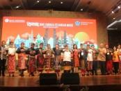 BI Bali bersama Pemkot Denpasar menggelar seminar 2 hari tentang QRIS bertema Sosialisasi Kebijakan Sistem Pembayaran QRIS dan Lembaga Keuangan Mikro di Gedung Dharma Negara Alaya, Lumintang Denpasar, (26 - 27 Februari 2020) - foto: Koranjuri.com