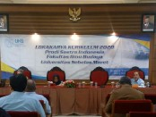 Keterangan foto : Lokakarya kurikulum prodi sastra 2020 UNS Surakarta ./foto: wik
