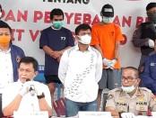 Direktorat Reserse Kriminal Khusus Polda Metro Jaya, Polres Metro Jakarta Timur, dan Polres Bandara Soekarno-Hatta memproses 43 kasus hoaks terkait penyebaran virus corana atau Covid-19 dan lockdown - foto: Bob/Koranjuri.com