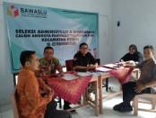 Seleksi calon anggota panwaslu kelurahan/Desa - foto: Sujono/Koranjuri.com