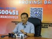 Ketua Satgas Penanggulangan Covid-19 Provinsi Bali Dewa Made Indra - foto: Istimewa