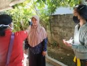 Inspeksi kesehatan terhadap warga di wilayah Banjar Suwung Batan Kendal, Denpasar Selatan - foto: Istimewa