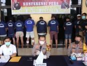 Sejumlah pelaku kejahatan jalanan dan perampok spesialis swalayan di Jakarta diamankan - foto: Istimewa