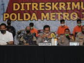 Tim gabungan Polres Metro Depok bersama Subdit Jatanras Ditreskrimum Polda Metro Jaya dan Polsek Metro Sukmajaya menangkap pelaku pembunuhan terhadap Dian Nur Khonijah - foto: Istimewa