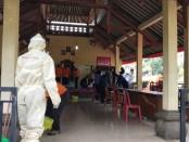 Suasana rapid test massal di Banjar Serokadan, Bangli, Kamis, 30 April 2020 - foto: Istimewa