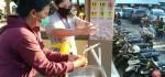 Pasar Telepud Tegallalang Wajibkan Pengunjung dan Pedagang Cuci Tangan dan Pakai Masker