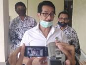 Kepala Dinas Pendidikan Kebudayaan dan Olahraga Provinsi Bali I Ketut Ngurah Boy Jayawibawa usai memantau Workshop TI guru PGRI se-Bali yang diadakan secara online, Selasa, 14 April 2020 - foto: Koranjuri.com