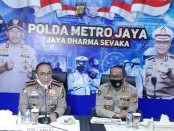 Ditlantas Polda Metro Jaya mempercepat pelaksanaan Operasi Ketupat 2020, Kamis malam, 23 April 2020 - foto: Istimewa