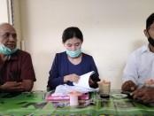 Tim Kuasa Hukum Ketut Sudiarsa dari Kantor Hukum Ni Made Sumertayani dan Rekan - foto: Koranjuri.com