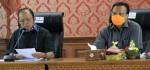 Kepada Gugus Tugas Nasional, Gubernur Laporkan Penanganan Covid-19 di Bali