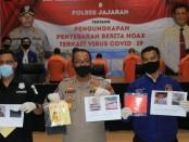 Direktorat Reserse Kriminal Khusus Polda Metro Jaya, dan Polres jajaran berhasil mengungkap 443 kasus hoaks dan hate speech terkait isu virus corona - foto: Istimewa