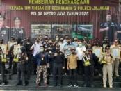 Selamat! Tim Tiger Polres Metro Jakarta Utara terpilih menjadi tim terbaik I dalam penghargaan yang diberikan oleh Direktorat Reskrimum Polda Metro Jaya, Jumat, 8 Mei 2020 - foto: Istimewa