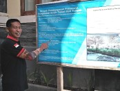 Ketua LPM Desa Legian Wayan Puspa Nega - foto: Koranjuri.com