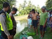 Kondisi korban saat ditemukan - foto: Sujono/Koranjuri.com
