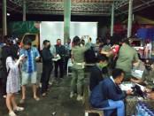 Ketat, titik pemeriksaan covid-19 menuju  Pulau Bali juga dilakukan di Banyuwangi. Penyekatan berlapis untuk mengantisipasi sebaran covid-19 dari pelintas zona merah di wilayah luar Bali - foto: Istimewa