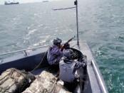 Satuan Patroli Lantamal III menggelar Uji Terampil Glagaspur Tingkat II/L-2 di atas kapal KAL Sanca I-3-55 dan KAL Kobra I-3-56 di Perairan Teluk Jakarta - foto: Istimewa