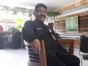 Kadisdik Gianyar, I Wayan Sadra saat ditemui di kantornya, Selasa (2/6/2020) pagi - foto: Catur/Koranjuri.com