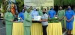 Gandeng YBI, Dharma Pertiwi Daerah J Bagikan Masker untuk Warga Denpasar