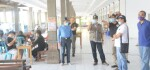 Sekda Bali Pantau Rapid Test Mandiri di Pelabuhan Gilimanuk
