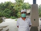 Bendesa Adat Padang Tegal Ubud, I Made Gandra saat ditemui di Monkey Forest Ubud - foto: Catur/Koranjuri.com