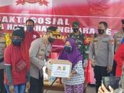 Bakti Sosial dalam rangka memperingati HUT Bhayangkara ke-74 , kegiatan di pimpin oleh Wakapolda Metro Jaya - foto: Istimewa