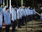 Pengukuhan 40 DP KORPRI Kabupaten Purworejo oleh Bupati Agus Bastian, Sabtu (27/06/2020) malam - foto: Sujono/Koranjuri.com