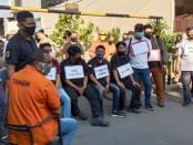 Reka ulang kasus penyerangan kelompok John Kei terhadap Nus Kei, Senin (6/7/2020) - foto: Istimewa