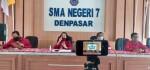 MPLS Virtual di SMAN 7 Denpasar, Tetap  Disiplin Protokol Kesehatan