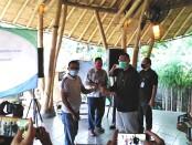 BP Jamsostek Cabang Bali menggelar sosialisasi manfaat program BPJS Ketenagakerjaan bagi pekerja bukan penerima upah di Denpasar, Jumat, 10 Juli 2020 - foto: Koranjuri.com