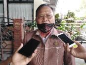 Ketua YPLP PGRI Kota Denpasar yang juga Kepala SMK PGRI 3 Denpasar I Nengah Madiadnyana - foto: Koranjuri.com