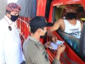 Tim gabungan yang dipimpin Inspekorat Provinsi Bali melakukan inspeksi mendadak di Pelabuhan Gilimanuk, Kamis, 23 Juli 2020 - foto: Istimewa